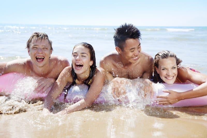 Amusement de plage photos stock