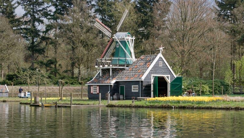 amusement efteling le stationnement néerlandais images libres de droits