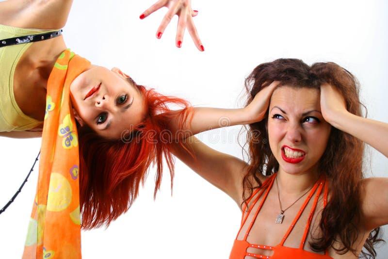 Amusement orange image libre de droits
