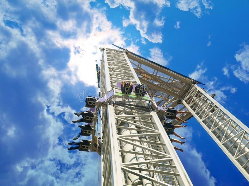 Download Amusement Park stock image. Image of fear, drop, entertainment - 11520547