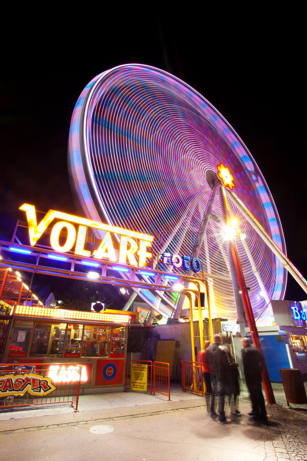 Download Amusement park stock photo. Image of excitement, spin - 22761712