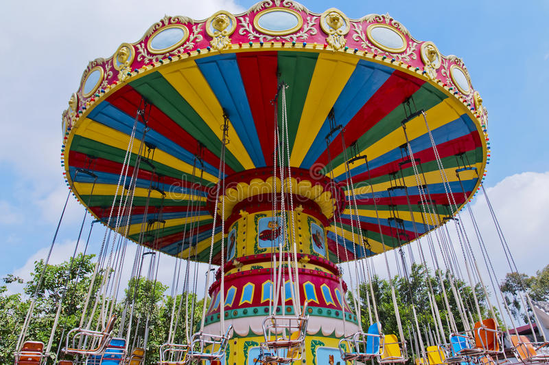 Download Amusement park stock image. Image of garden, amusement - 24679149