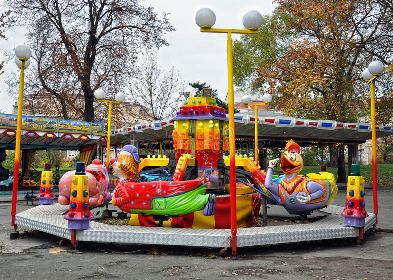 Download Amusement park stock photo. Image of family, kids, fectival - 27725342