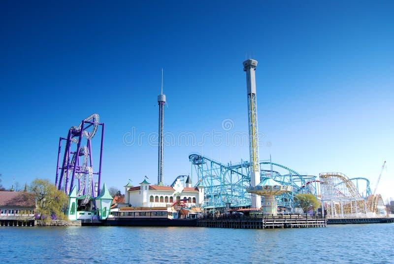 Download Amusement park stock photo. Image of sweden, construction - 28274368