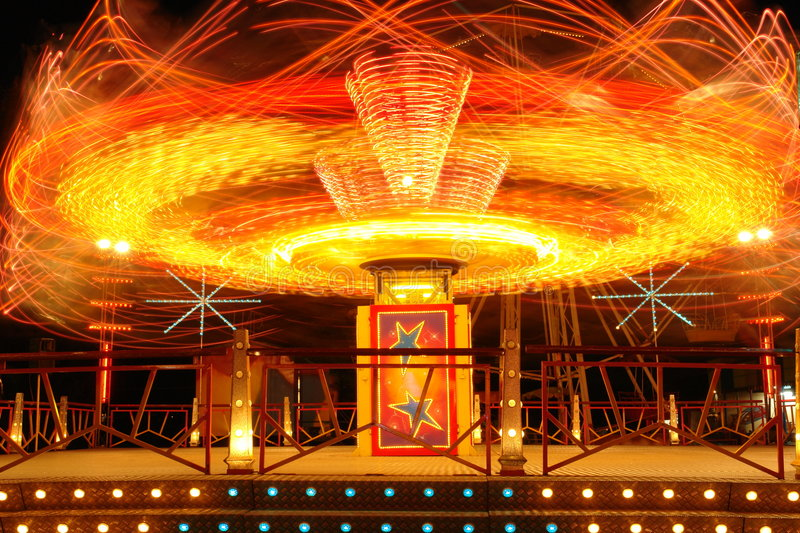 Download Amusement park, attraction stock photo. Image of light - 4352094