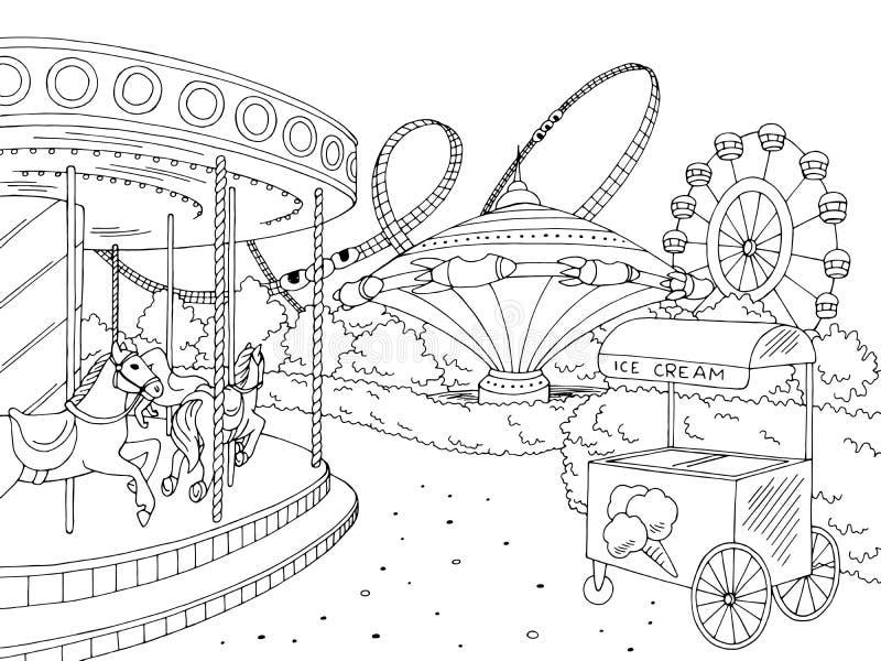 Amusement Park Coloring Stock Illustrations 81 Amusement Park Coloring Stock Illustrations Vectors Clipart Dreamstime