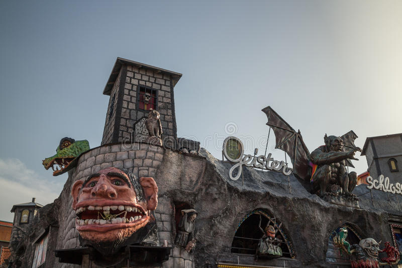 Amusement park , Prater royalty free stock photos