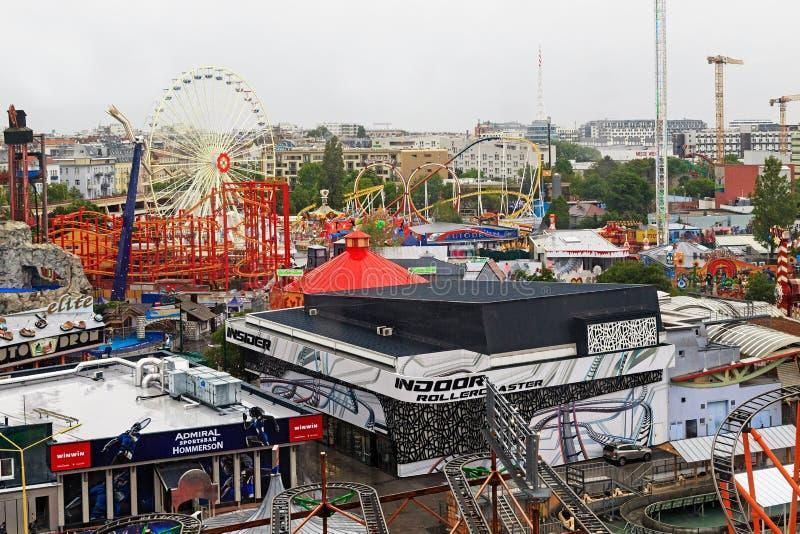 Amusement Park, Prater, Wenen royalty-vrije stock afbeelding