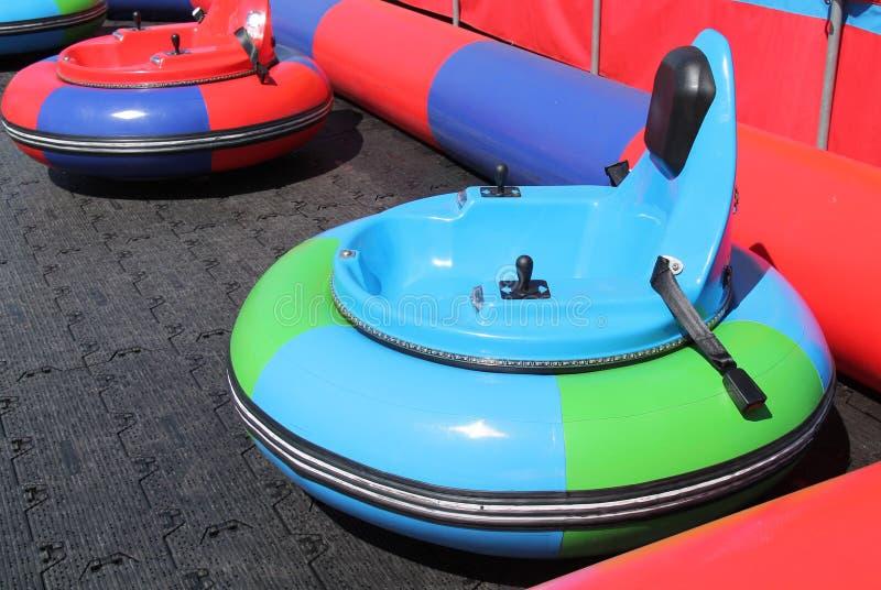 Amusement Park Ride. A Self Driving Fun Cart on an Amusement Park Ride stock image