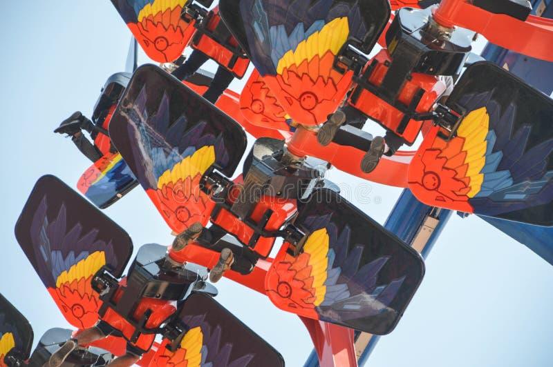 Amusement superbe de vol photos libres de droits
