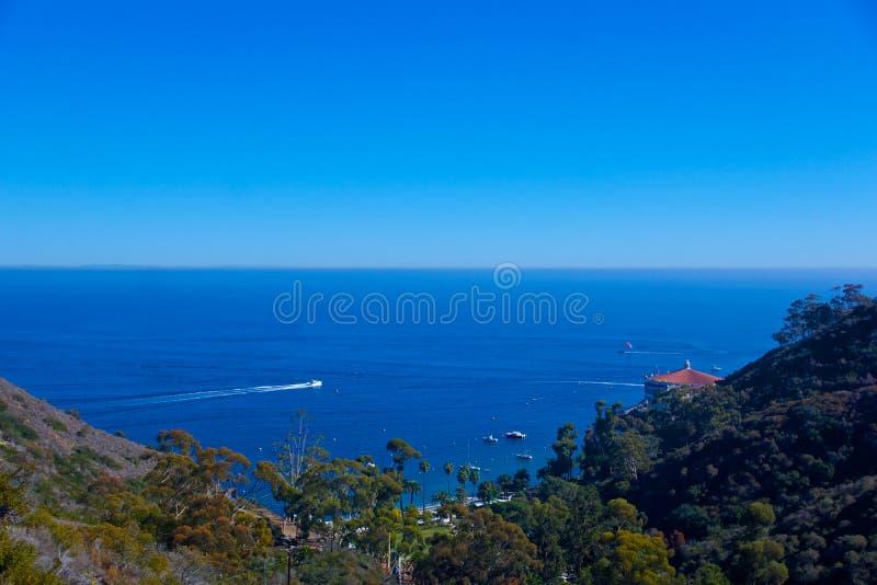 Amusement sur l'île de Santa Catalina photos libres de droits