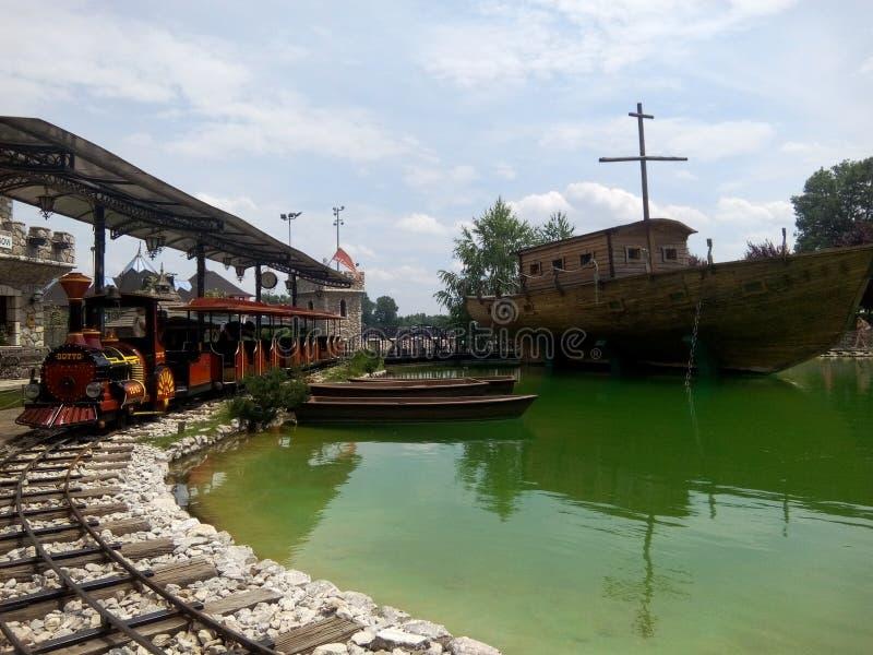 Amusmentpark royalty-vrije stock fotografie