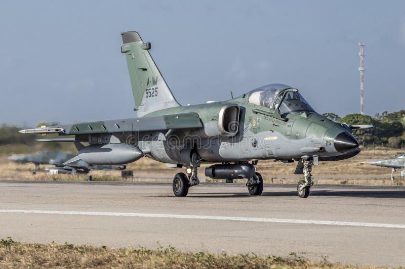 A-1 AMX du Cruzex en fonction OUVRIER photo libre de droits