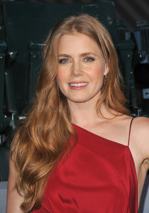 Amy Adams. LOS ANGELES, CA - September 19, 2012: Amy Adams at the premiere of her movie \'Trouble With The Curve\' at the Mann Village Theatre, Westwood..Picture stock photography