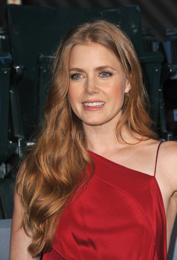 Amy Adams. LOS ANGELES, CA - September 19, 2012: Amy Adams at the premiere of her movie \'Trouble With The Curve\' at the Mann Village Theatre, Westwood..Picture royalty free stock image