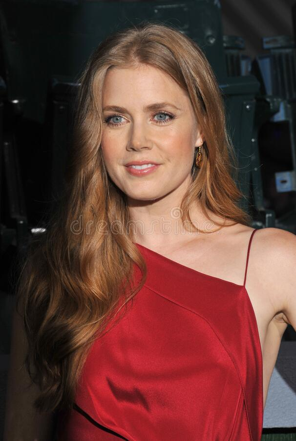 Amy Adams. LOS ANGELES, CA - September 19, 2012: Amy Adams at the premiere of her movie \'Trouble With The Curve\' at the Mann Village Theatre, Westwood..Picture royalty free stock images