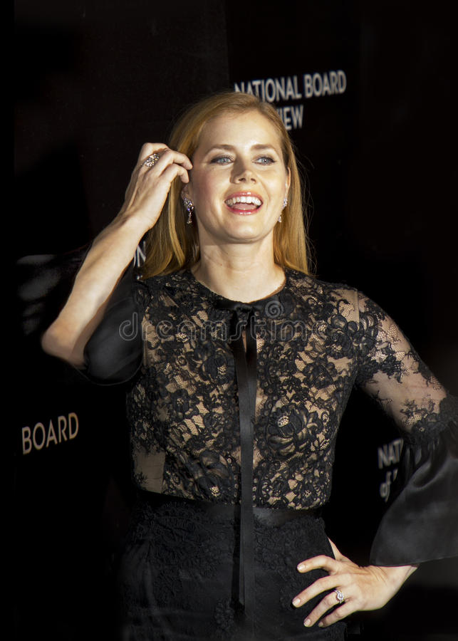 Download Amy Adams Scores At NBR Film Awards Editorial Photography - Image: 83721267