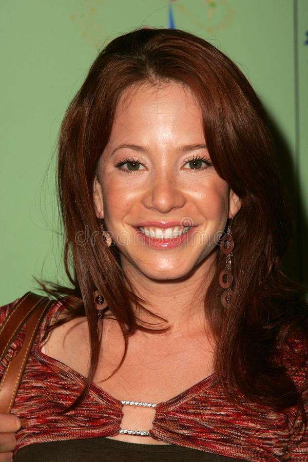 Amy Davidson. At the unveiling of the limited edition Disneyland 50th Collection, Fred Segal, Santa Monica, CA 07-13-05 stock image