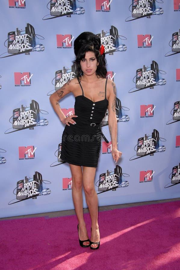 Amy Winehouse imagens de stock royalty free