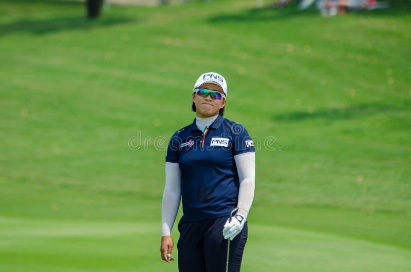 Amy Yang de la Corea del Sur en Honda LPGA Tailandia 2016 imagen de archivo