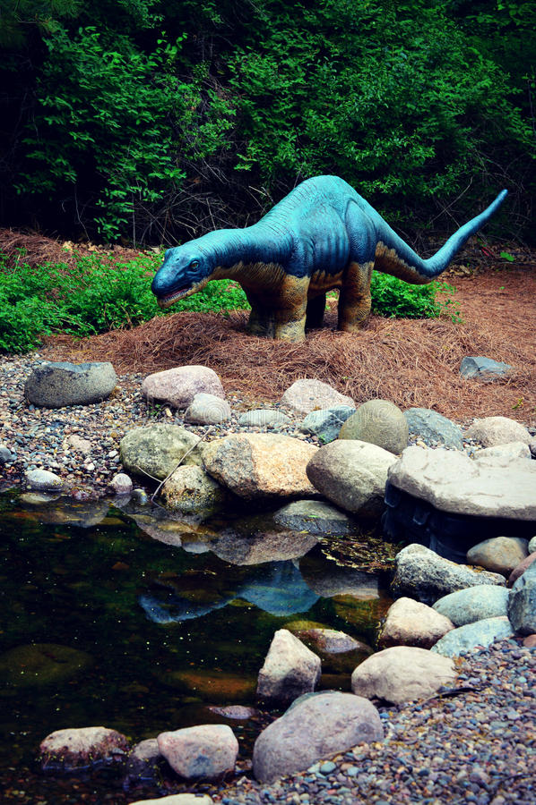 Amygdalodon-Dinosaurier lizenzfreie stockfotografie