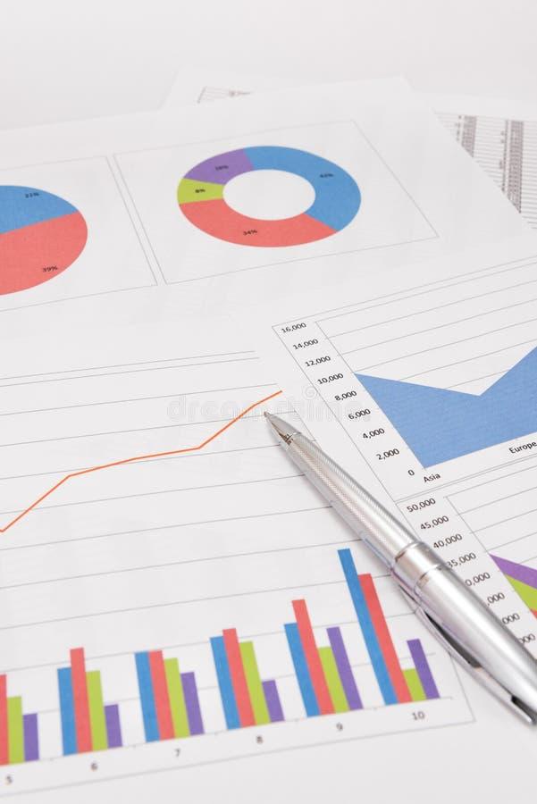 Análise de desempenho empresarial imagem de stock royalty free