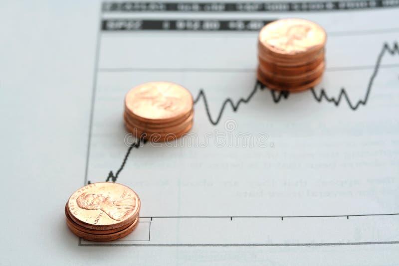 Análise de investimento imagem de stock royalty free