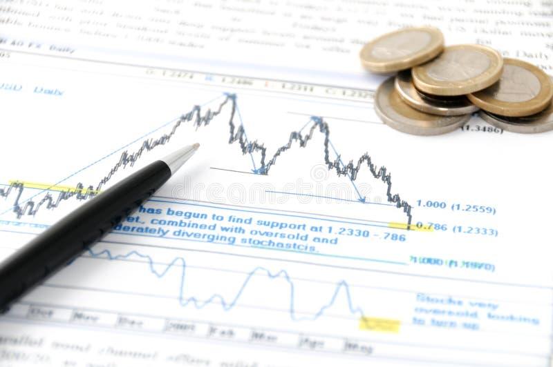 Análise do mercado imagens de stock