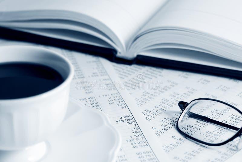 Análise financeira. fotos de stock