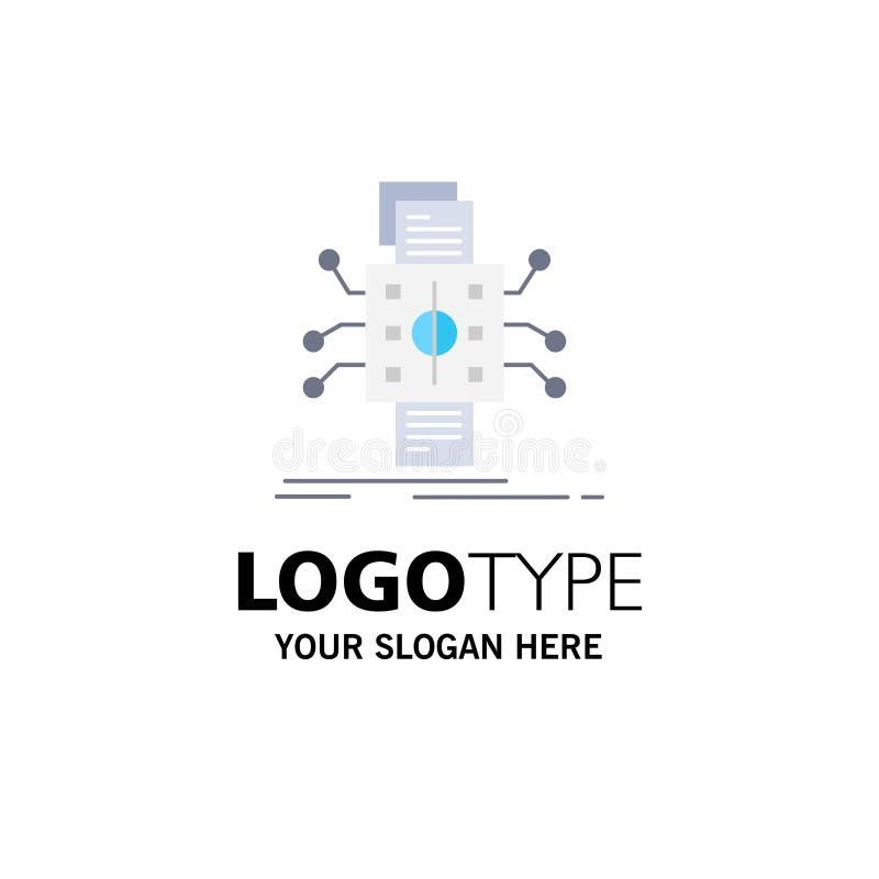 Análisis, datos, dato, proceso, divulgando vector plano del icono del color libre illustration