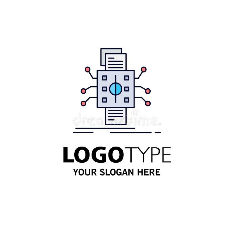 Análisis, datos, dato, proceso, divulgando vector plano del icono del color stock de ilustración