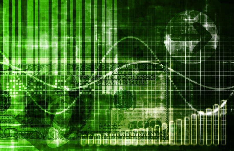 Análisis de datos de las estadísticas stock de ilustración