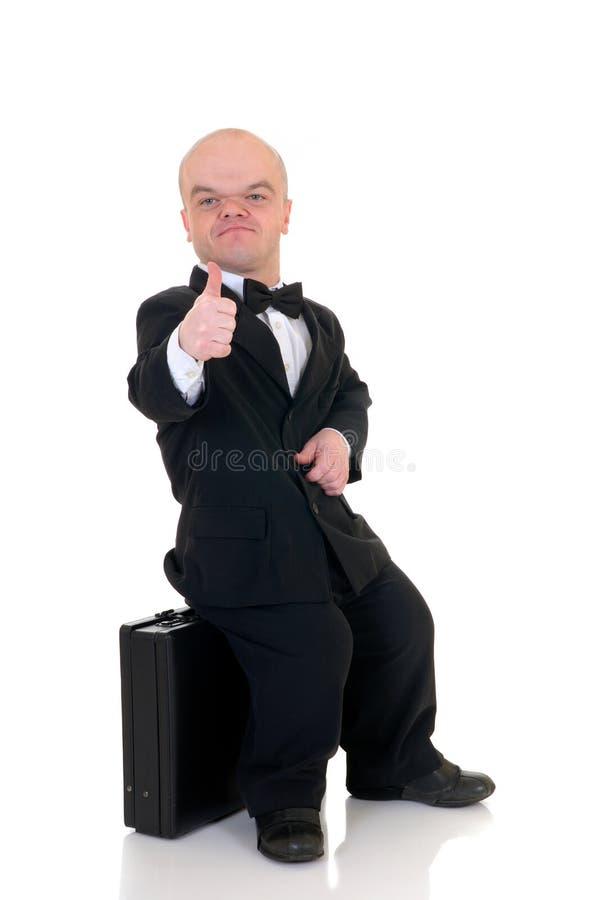 Anão, homem de negócios pequeno fotos de stock