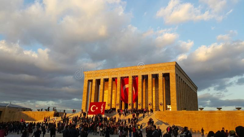 Anıtkabir Ataturk fotos de stock royalty free