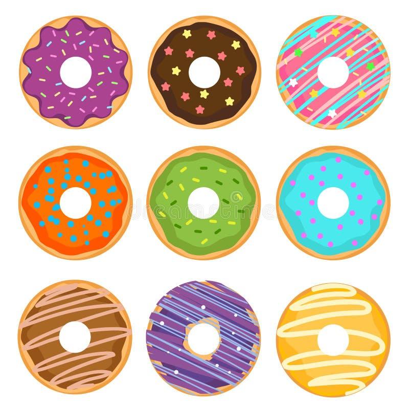 Anéis de espuma coloridos desenhos animados fotografia de stock royalty free