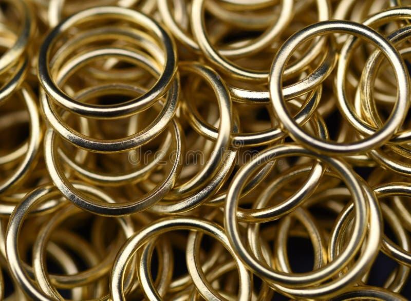 Anéis de ouro fotografia de stock royalty free