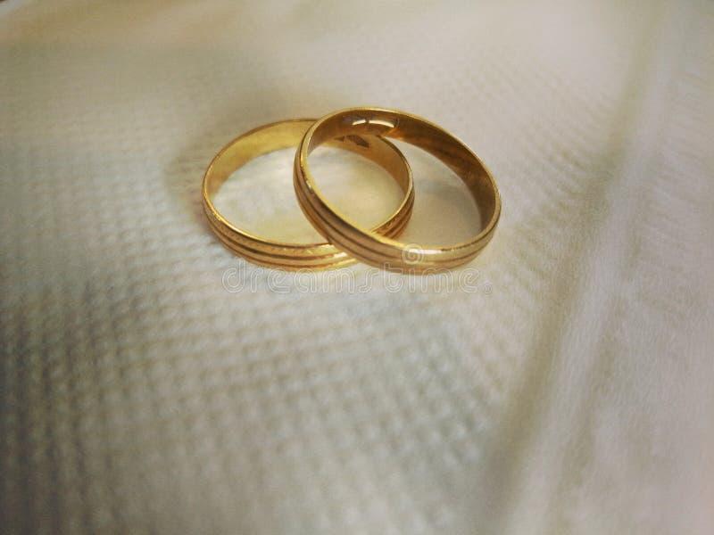 Anéis do ` s do amante imagens de stock royalty free