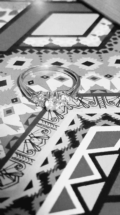 Anéis dos corações imagem de stock royalty free
