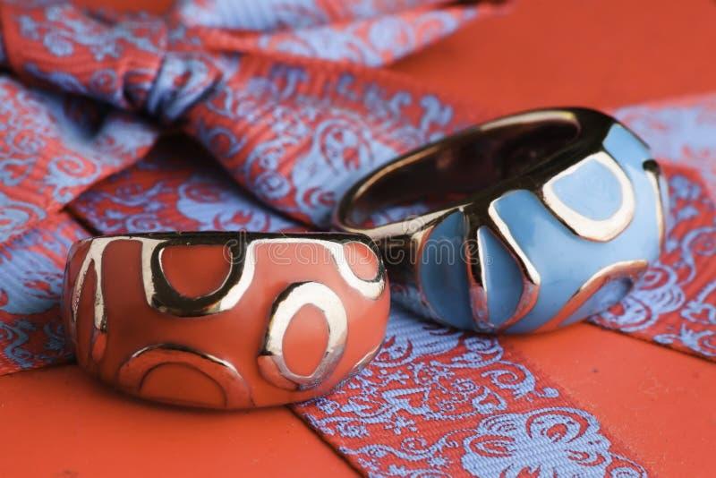 Anéis Luxuosos Fotos de Stock Royalty Free