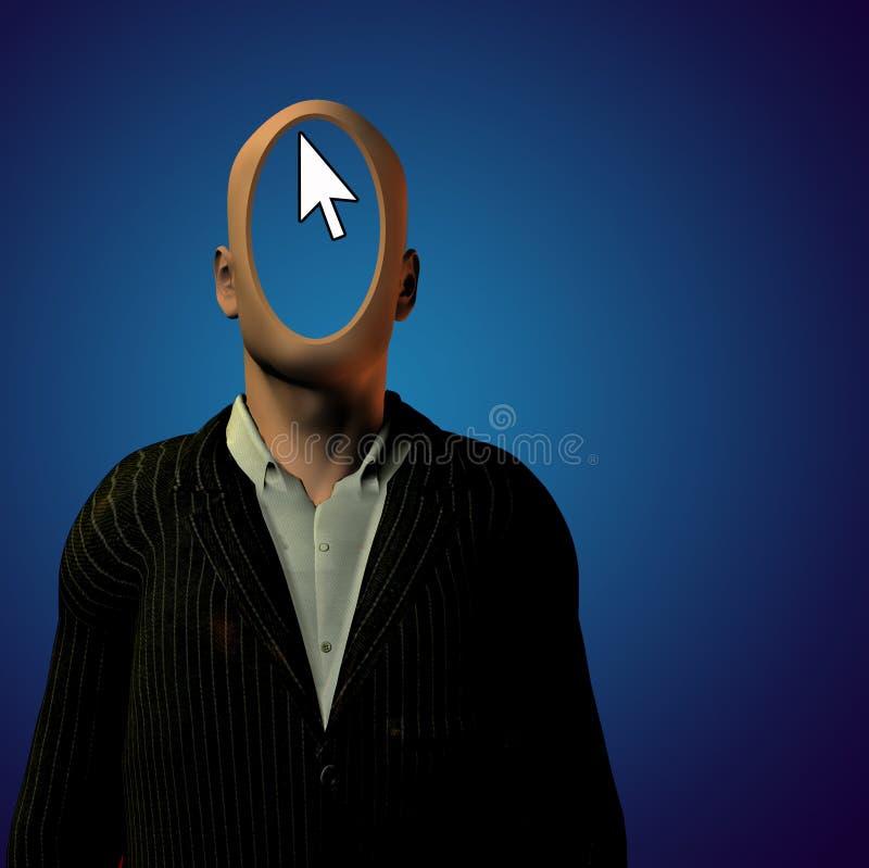 anónimo ilustración del vector