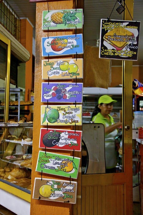 Download Anúncio Exótico Dos Sucos De Fruta, Colômbia Foto de Stock Editorial - Imagem de sucos, tourism: 26502978
