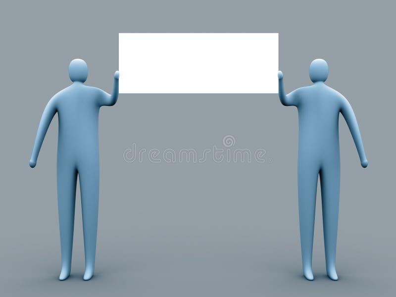 Download Anúncio livre ilustração stock. Ilustração de bandeira - 104032