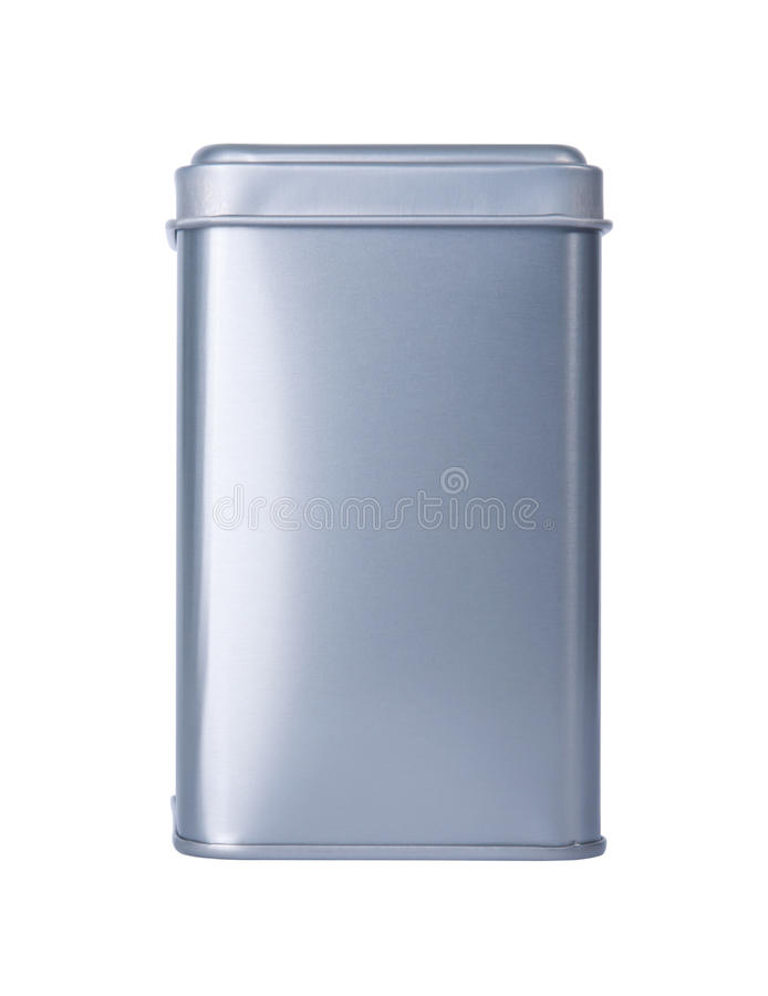 Free An Aluminum Box Stock Image - 25119811