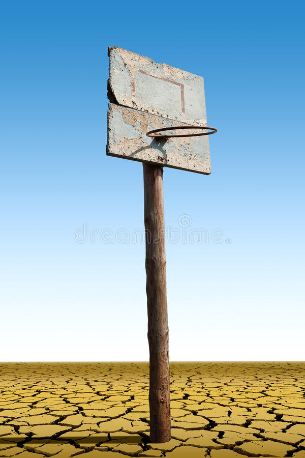 Free An Old Basketball Hoop Royalty Free Stock Photo - 59698045