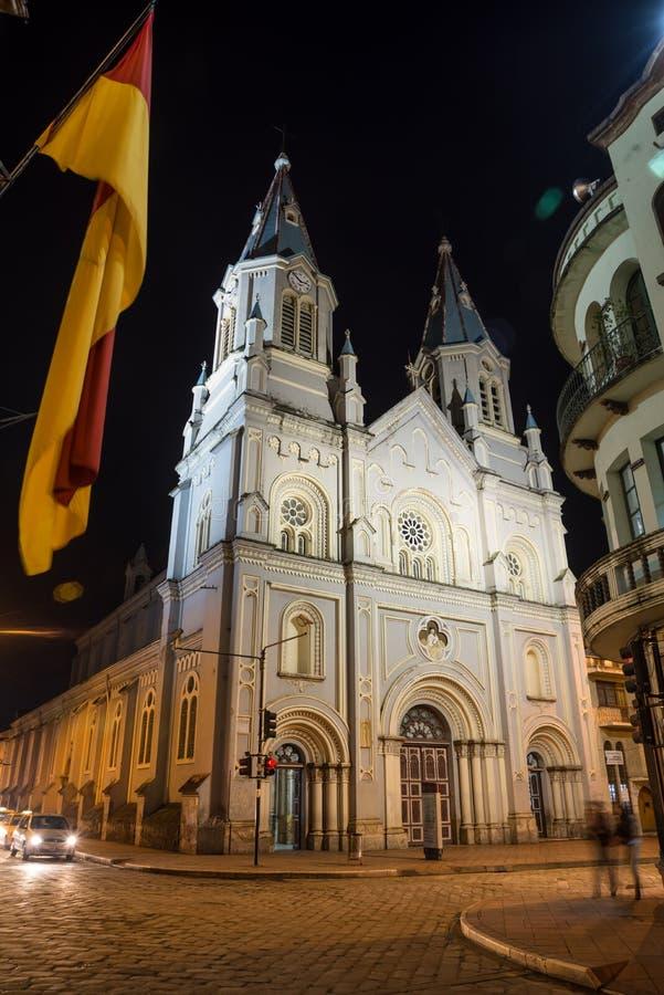 Free An Old Church In Downtown Cuenca, Ecuador Royalty Free Stock Photos - 42152658