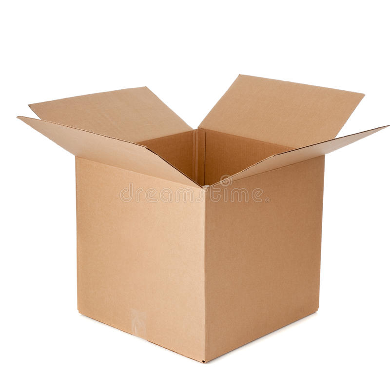 Free An Open Empty Cardboard Box Stock Photo - 11636140