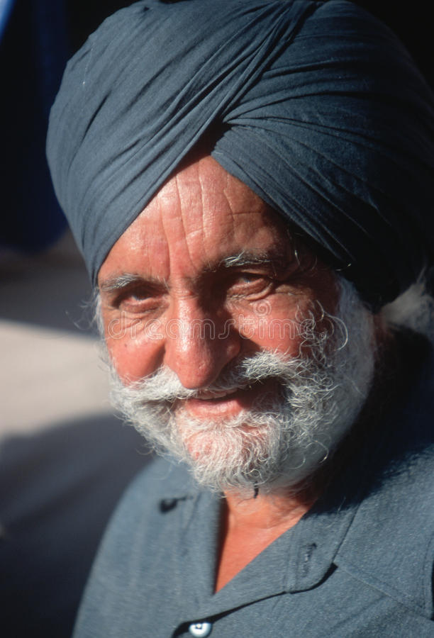 Free An Sikh Indian Man Attending Al Gore S Campaign Royalty Free Stock Photography - 25966287
