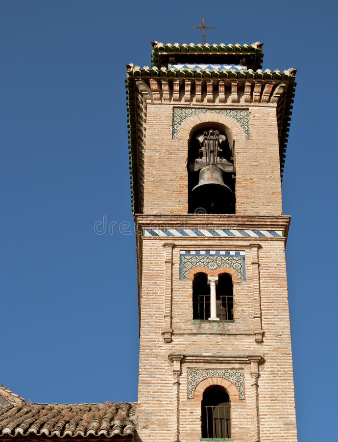 ana πύργος santa της Γρανάδας εκ&ka στοκ φωτογραφίες με δικαίωμα ελεύθερης χρήσης