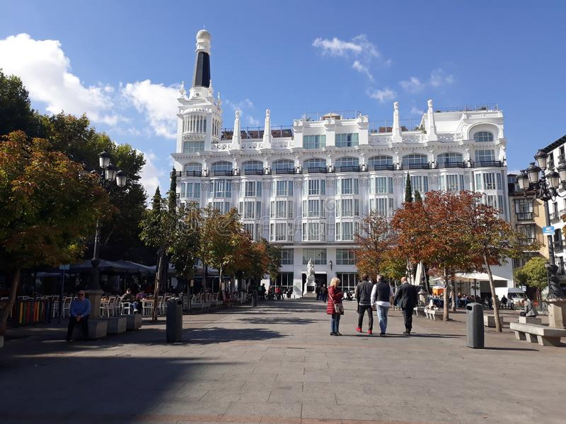 ana de plaza santa στοκ εικόνα με δικαίωμα ελεύθερης χρήσης