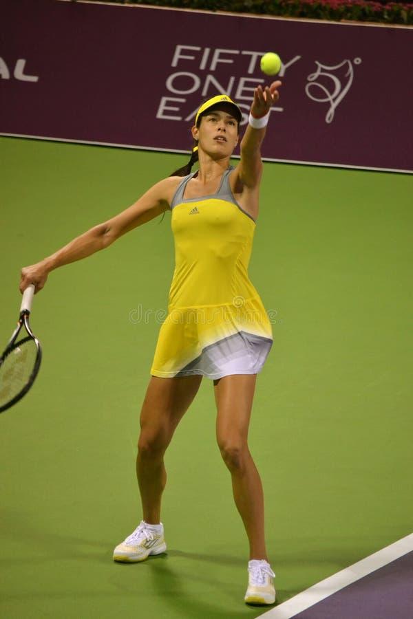 Ana Ivanovic stockbild